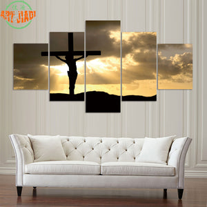 Christian Cross Sunset Jesus - The Force Gallery