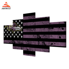 Baltimore Ravens American Flag Football - The Force Gallery