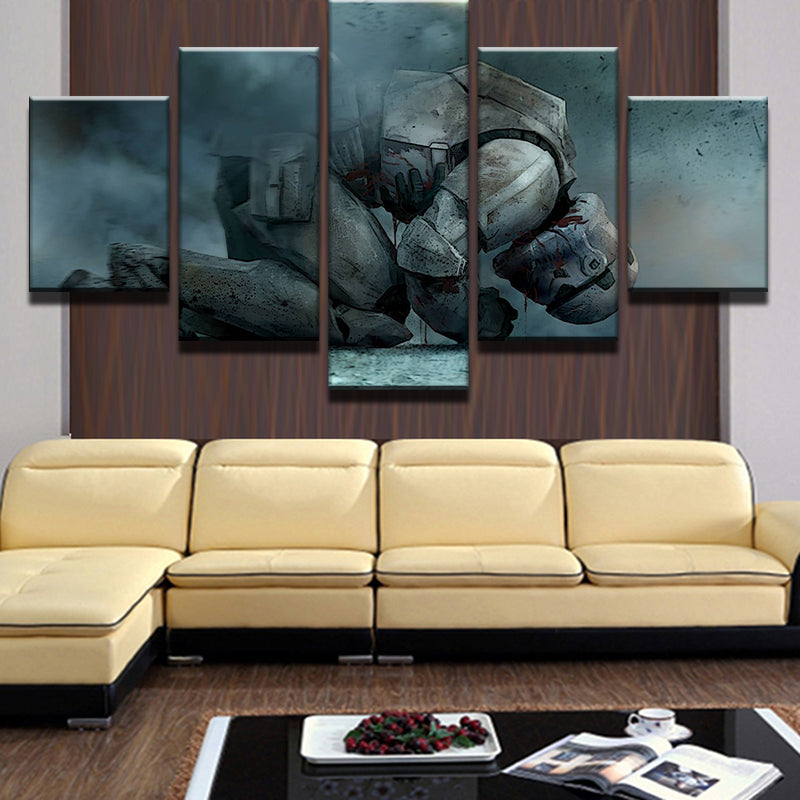 Star Wars Stormtrooper Distraught War Canvas - The Force Gallery