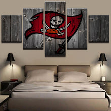 Tampa Bay Buccaneers Football Barnwood Style Canvas - The Force Gallery