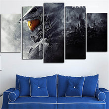 Halo Video Game Canvas Wall Art Five Piece - The Force Gallery