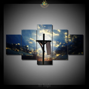 Easter Cross Jesus Christian Canvas - The Force Gallery