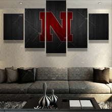Nebraska Cornhuskers College Barnwood style Canvas - The Force Gallery