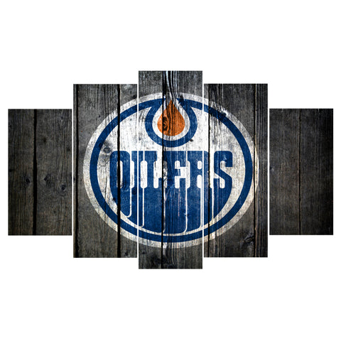 Edmonton Oilers Hockey Canvas - The Force Gallery