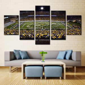 West Virginia College Stadium Canvas - The Force Gallery