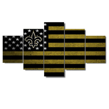 New Orleans Saints Football American Flag - The Force Gallery