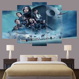 Star Wars Rogue One Montage Canvas - The Force Gallery