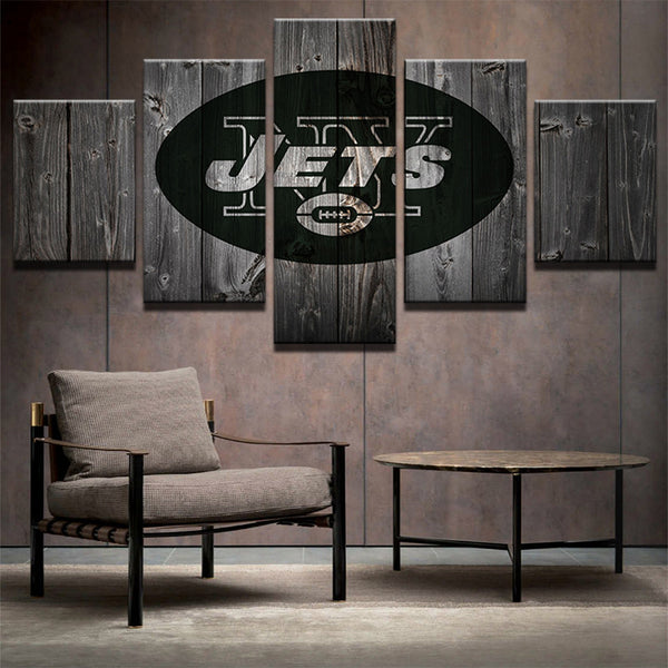 New York Jets Football Canvas