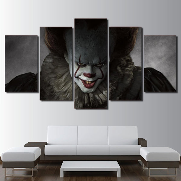 Pennywise IT Horror Halloween Canvas
