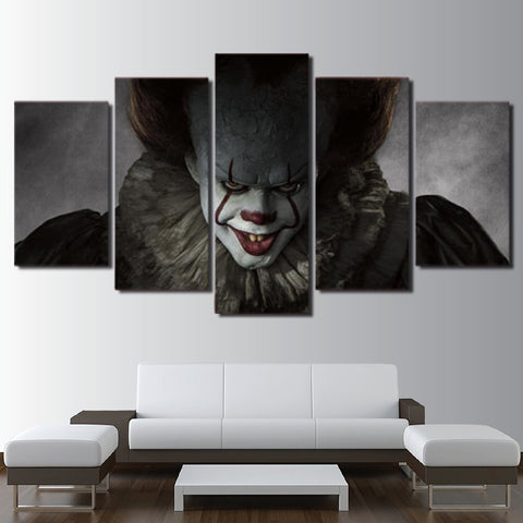 Pennywise IT Horror Halloween Canvas - The Force Gallery