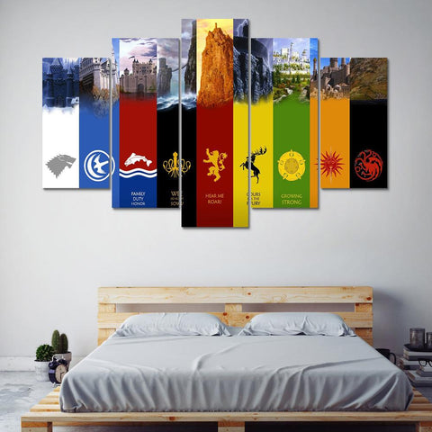 Game of Thrones House Banners - The Force Gallery