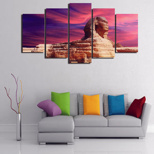 Egyptian Sphinx Pyramid Pharoah Canvas - The Force Gallery