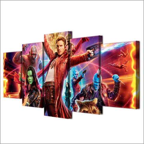 Guardians of the Galaxy Star Lord Canvas - The Force Gallery