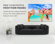 Custom Print Single Picture Canvas Framed or Unframed Multiple Size Options - The Force Gallery