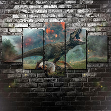 Jurassic World Kingdom Fallen Five Piece Canvas - The Force Gallery