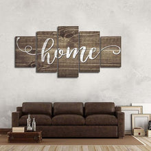 Home Barnwood Look Five Piece Canvas Wall Art Home Decor Multi Panel 5 - The Force Gallery