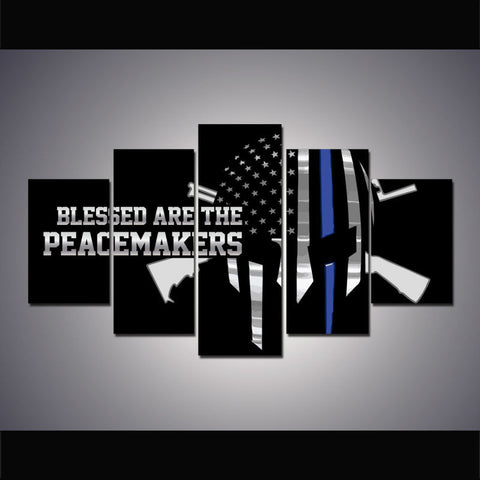 Police Peacemakers Skull - The Force Gallery
