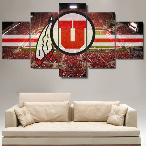 Various College Football Themed Canvases - The Force Gallery