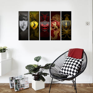 Game of Thrones Banners Five piece set! - The Force Gallery