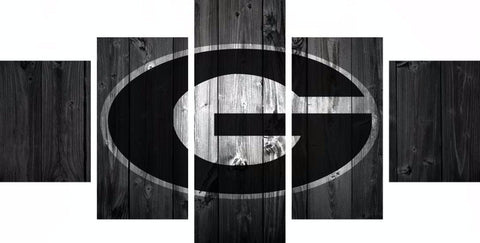 Georgia Bulldogs College Football Canvas Barn Wood style (not actual barnwood) - The Force Gallery