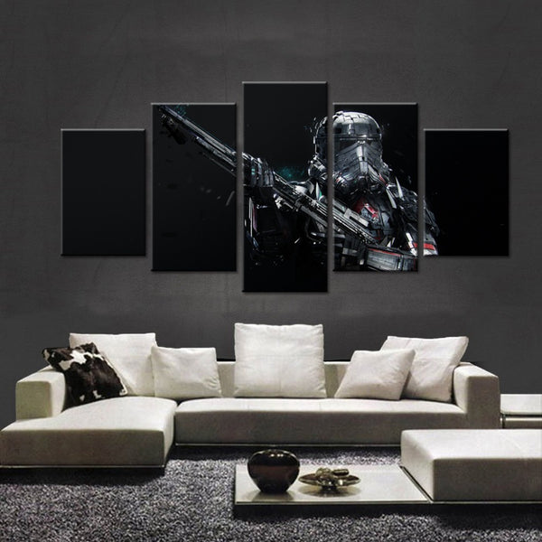 Star Wars Dark Stormtrooper - The Force Gallery