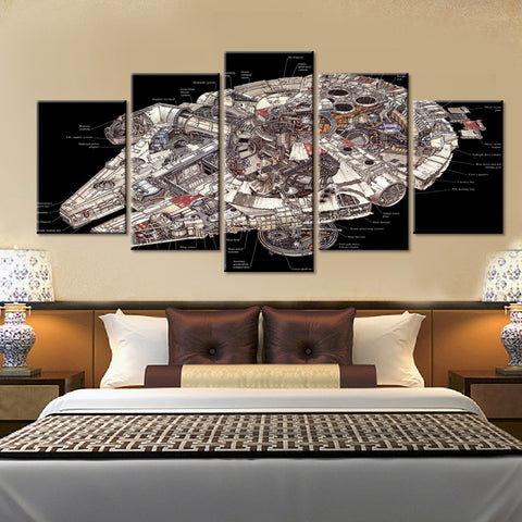 Star Wars Millennium Falcon Interior Plans - The Force Gallery
