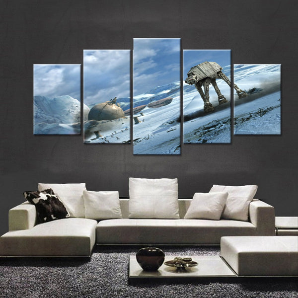 Star Wars Battle of Hoth AT-AT - The Force Gallery