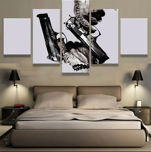 Boondock Saints Gun Canvas Print - The Force Gallery