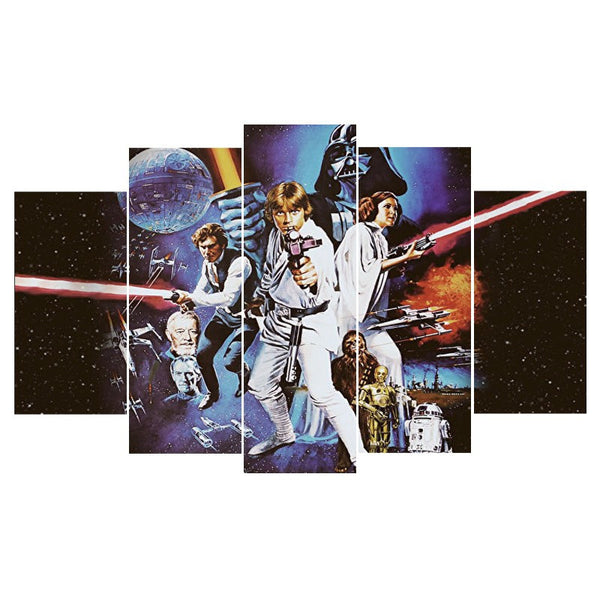 Star Wars original Poster Canvas