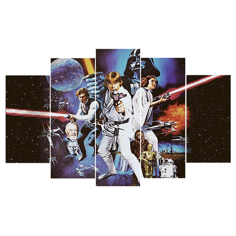 Star Wars original Poster Canvas - The Force Gallery