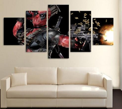 Deadpool Canvas - The Force Gallery