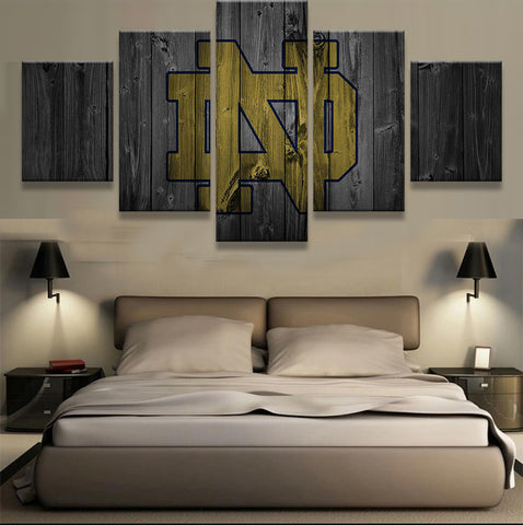 Notre Dame Barn Wood Style Canvas - The Force Gallery
