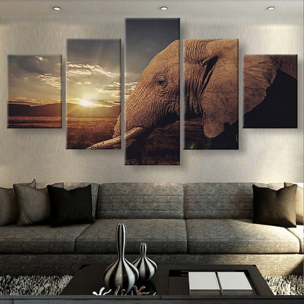 Large Framed African Elephant - The Force Gallery