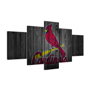 St. Louis Cardinals Baseball Canvas - The Force Gallery