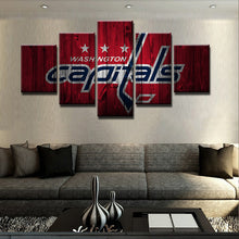 Washington Capitals Hockey Canvas Print - The Force Gallery