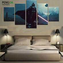 Star Wars Darth Vader Lightsaber Canvas Print - The Force Gallery