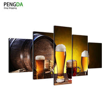 Beer Barrel Mug Canvas Print - The Force Gallery