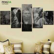 Native Americans Montage Canvas Print - The Force Gallery