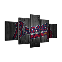 Atlanta Braves Baseball Canvas - The Force Gallery