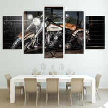 Harley Davidson Motorcylcle Canvas Headlights - The Force Gallery