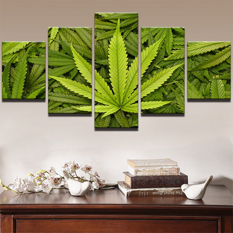 Marijuana Hemp Canvas