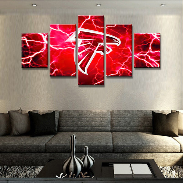 Atlanta Falcons Football Canvas