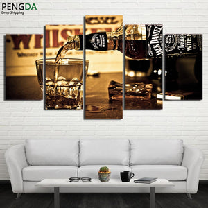 Jack Daniels Whiskey Canvas - The Force Gallery