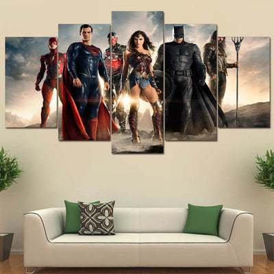 Justice League Wonder Woman Batman Superman Aquaman - The Force Gallery