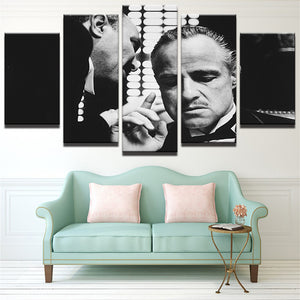 The Godfather Gangster Canvas - The Force Gallery