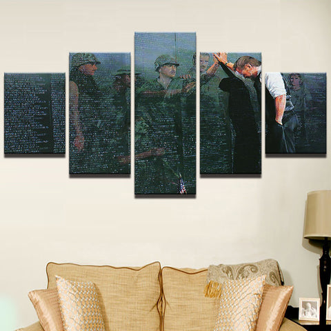 Memorial Wall Soldier Vietnam War - The Force Gallery