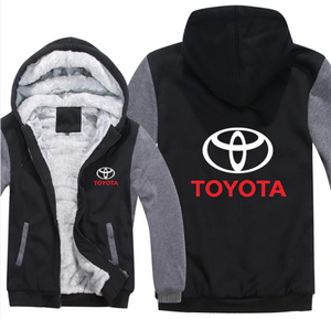 Toyota Motors Hoodie Jacket - The Force Gallery