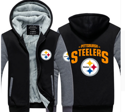 Pittsburgh Steelers Football Hoodie Jacket - The Force Gallery