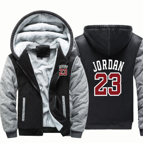 Michael Jordan 23 Hoodie Jacket - The Force Gallery