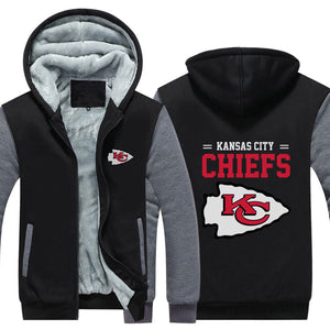 Kansas City Chiefs Football Hoodie/Jacket - The Force Gallery